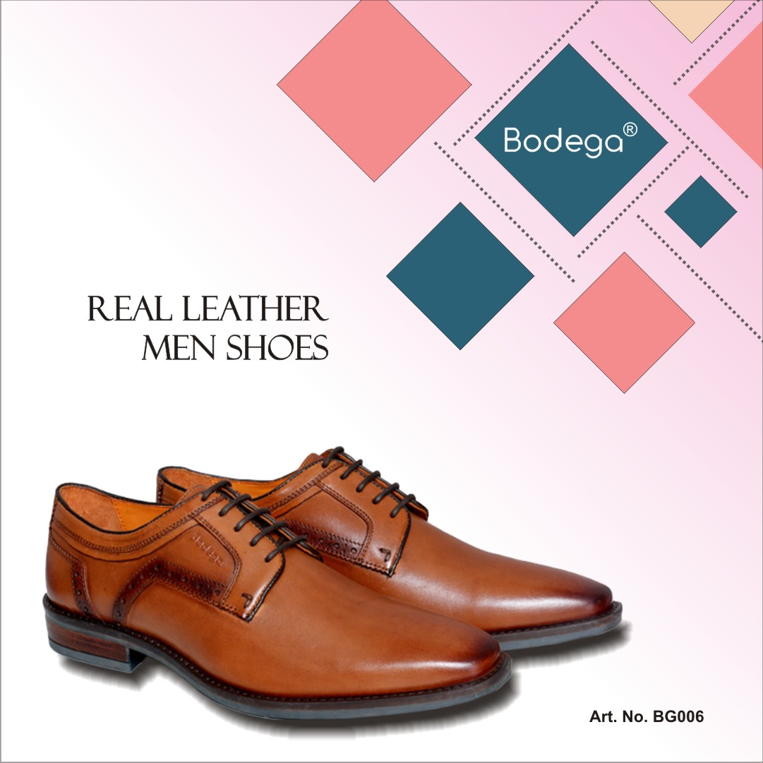 leather formal shoes men India