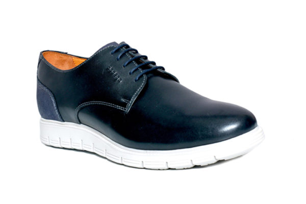 Bodega Shoes Real Leather Men Black Extralight Sole Shoes