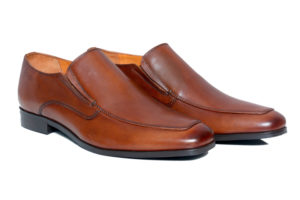 Real Leather Men's Classic brown Slipon Shoes