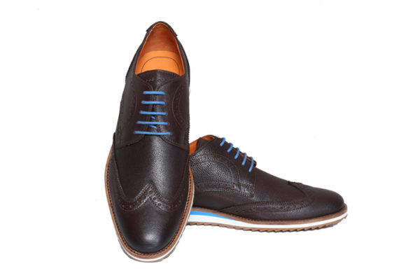 Bodega Shoes Real Leather Men Brown Light Weight Casual Brouges Shoes