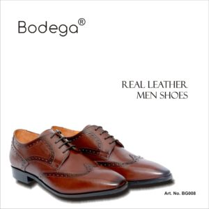 Real Leather Shoes Brown