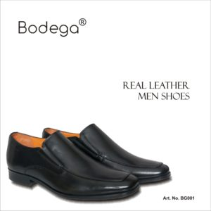 Real Leather Black