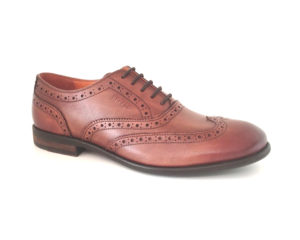 Bodega | Pure Leather Tan Oxford Brogue Shoes