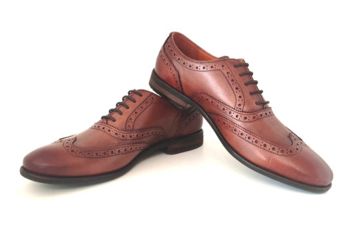 Men's brown wedding shoes India