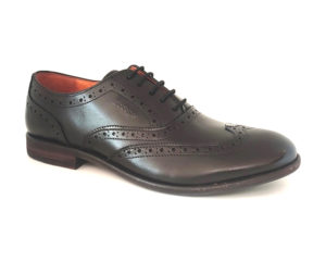Bodega | Pure Leather Black Oxford Brogue Shoes