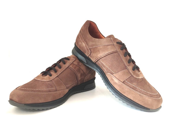 Mens Leather Walking Shoes 2