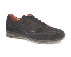 Bodega | Nubuck Black Walking Sneaker Shoes