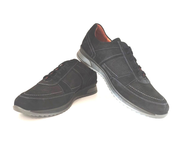 Mens Leather Walking Shoes
